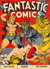 Cover Thumbnail for Fantastic Comics (Fox, 1939 series) #8
