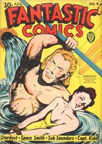 Cover Thumbnail for Fantastic Comics (Fox, 1939 series) #9