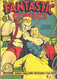 Cover Thumbnail for Fantastic Comics (Fox, 1939 series) #10