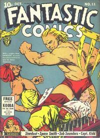 Cover Thumbnail for Fantastic Comics (Fox, 1939 series) #11