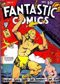 Cover Thumbnail for Fantastic Comics (Fox, 1939 series) #12