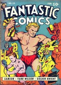 Cover Thumbnail for Fantastic Comics (Fox, 1939 series) #15