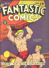 Cover Thumbnail for Fantastic Comics (Fox, 1939 series) #16
