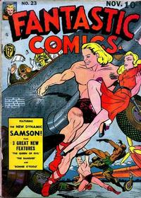 Cover Thumbnail for Fantastic Comics (Fox, 1939 series) #23