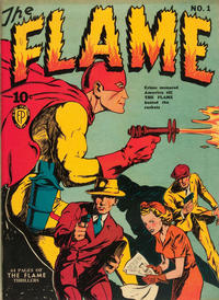Cover Thumbnail for The Flame (Fox, 1940 series) #1