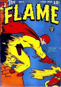 Cover Thumbnail for The Flame (Fox, 1940 series) #4