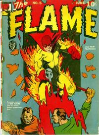 Cover Thumbnail for The Flame (Fox, 1940 series) #5