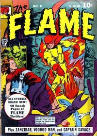 Cover Thumbnail for The Flame (Fox, 1940 series) #6