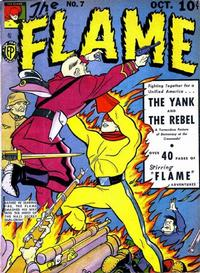 Cover Thumbnail for The Flame (Fox, 1940 series) #7