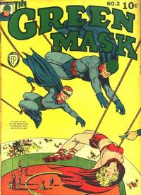 Cover Thumbnail for The Green Mask (Fox, 1940 series) #2