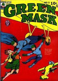 Cover Thumbnail for The Green Mask (Fox, 1940 series) #3