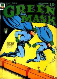 Cover Thumbnail for The Green Mask (Fox, 1940 series) #4