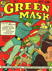 Cover Thumbnail for The Green Mask (Fox, 1940 series) #7