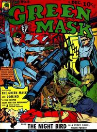 Cover Thumbnail for The Green Mask (Fox, 1940 series) #8