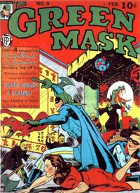 Cover Thumbnail for The Green Mask (Fox, 1940 series) #9