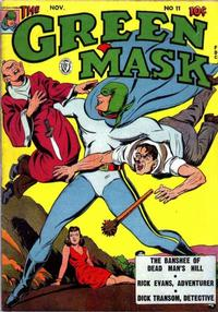 Cover Thumbnail for The Green Mask (Fox, 1940 series) #11