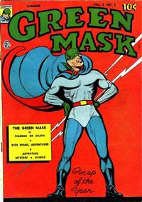 Cover Thumbnail for The Green Mask (Fox, 1940 series) #v2#2 [13]