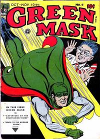 Cover Thumbnail for The Green Mask (Fox, 1940 series) #6 [17]