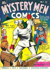 Cover Thumbnail for Mystery Men Comics (Fox, 1939 series) #1