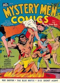 Cover Thumbnail for Mystery Men Comics (Fox, 1939 series) #4