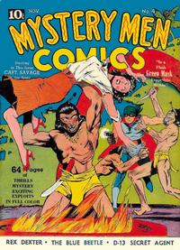 Cover Thumbnail for Mystery Men Comics (Fox, 1939 series) #4