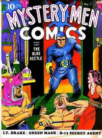 Cover Thumbnail for Mystery Men Comics (Fox, 1939 series) #7