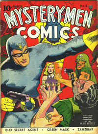 Cover Thumbnail for Mystery Men Comics (Fox, 1939 series) #8