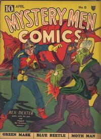 Cover Thumbnail for Mystery Men Comics (Fox, 1939 series) #9