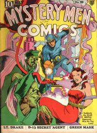 Cover Thumbnail for Mystery Men Comics (Fox, 1939 series) #10