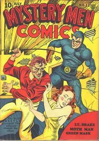 Cover Thumbnail for Mystery Men Comics (Fox, 1939 series) #12