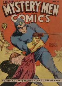 Cover Thumbnail for Mystery Men Comics (Fox, 1939 series) #13