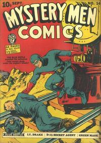 Cover Thumbnail for Mystery Men Comics (Fox, 1939 series) #14