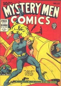 Cover Thumbnail for Mystery Men Comics (Fox, 1939 series) #15