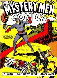 Cover Thumbnail for Mystery Men Comics (Fox, 1939 series) #17
