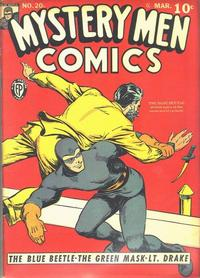 Cover Thumbnail for Mystery Men Comics (Fox, 1939 series) #20