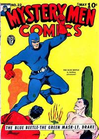 Cover Thumbnail for Mystery Men Comics (Fox, 1939 series) #22