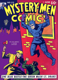 Cover Thumbnail for Mystery Men Comics (Fox, 1939 series) #23