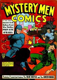 Cover Thumbnail for Mystery Men Comics (Fox, 1939 series) #25