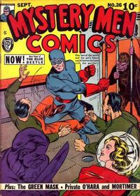 Cover Thumbnail for Mystery Men Comics (Fox, 1939 series) #26