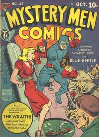 Cover Thumbnail for Mystery Men Comics (Fox, 1939 series) #27