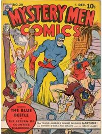 Cover Thumbnail for Mystery Men Comics (Fox, 1939 series) #29