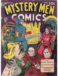 Cover Thumbnail for Mystery Men Comics (Fox, 1939 series) #30