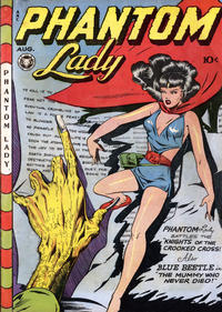 Cover Thumbnail for Phantom Lady (Fox, 1947 series) #13