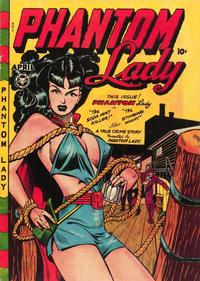 Cover Thumbnail for Phantom Lady (Fox, 1947 series) #17