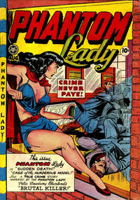 Cover Thumbnail for Phantom Lady (Fox, 1947 series) #19