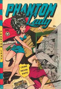 Cover Thumbnail for Phantom Lady (Fox, 1947 series) #21