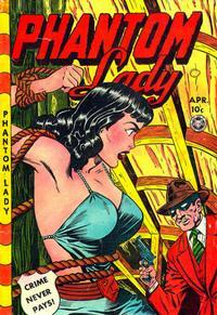 Cover Thumbnail for Phantom Lady (Fox, 1947 series) #23