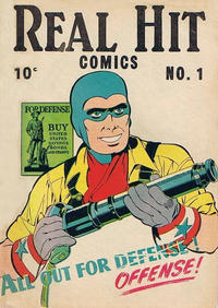 Cover Thumbnail for Real Hit Comics (Holyoke, 1944 series) #1