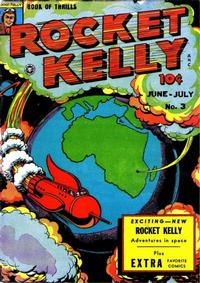 Cover Thumbnail for Rocket Kelly (Fox, 1945 series) #3