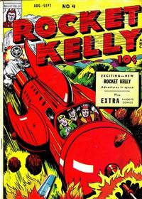 Cover Thumbnail for Rocket Kelly (Fox, 1945 series) #4